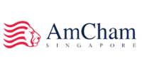 The American Chamber of Commerce in Singapore logo
